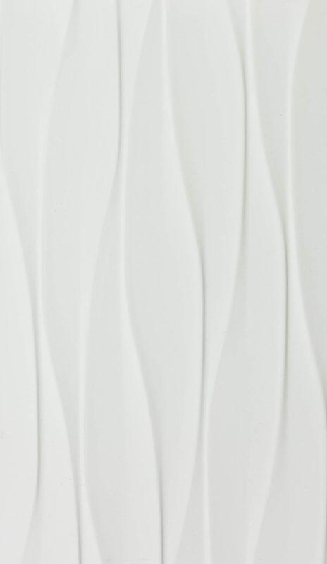 12x24 Super White Wind Gloss