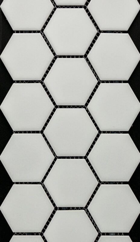 Matte White 2-Hex
